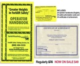 English Forklift Safety Training Handbooks