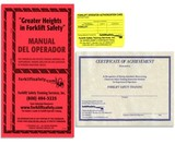 Additional Spanish Forklift Safety Training Handbooks