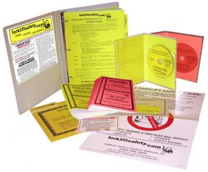 English and Spanish Forklift Safety Training Kit