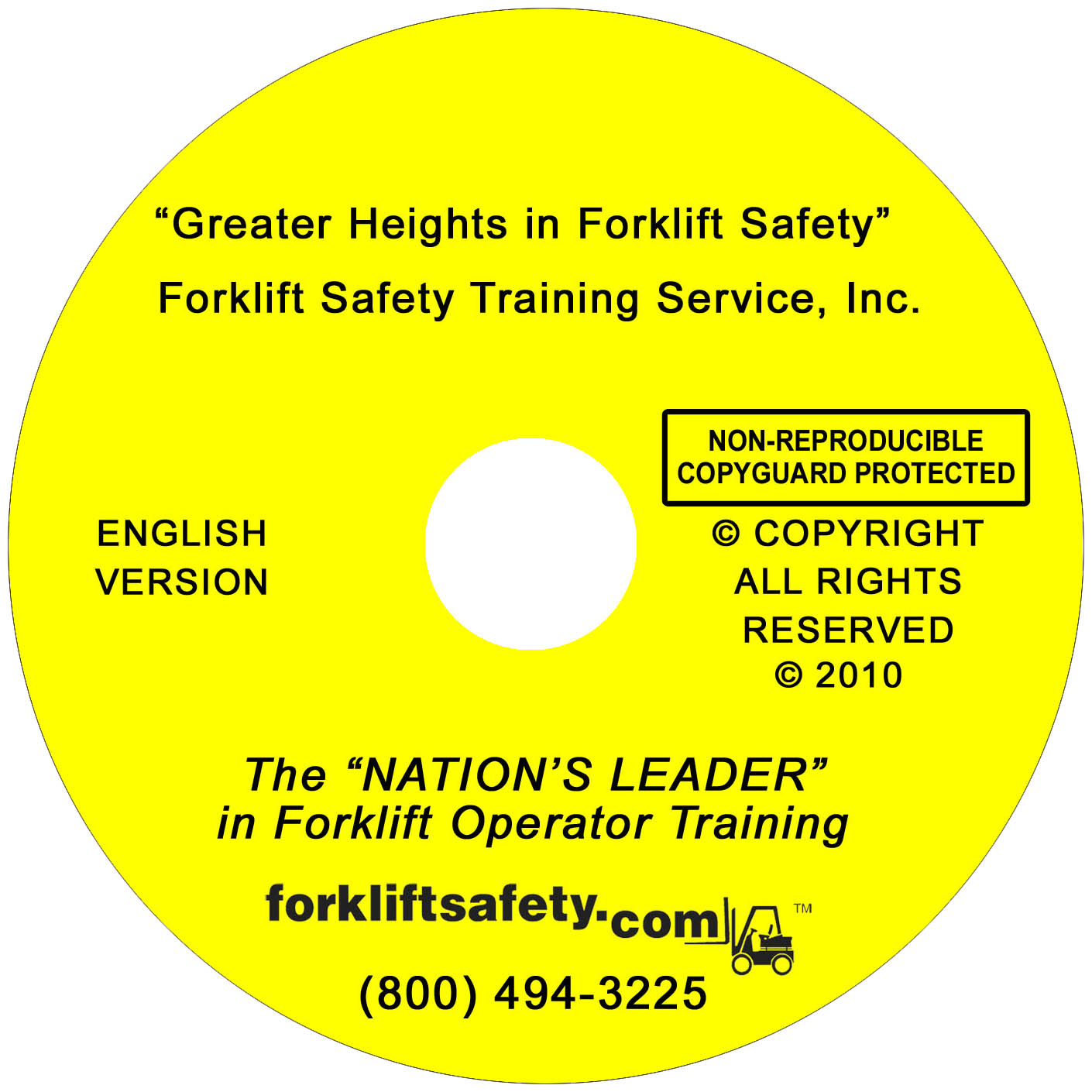 English forklift safety training dvd and video english dvd 1betcityfo Gallery