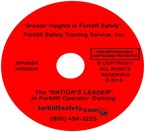 Spanish Forklift Safety Training DVD