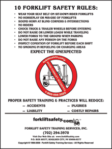 Forklift Training Materials
