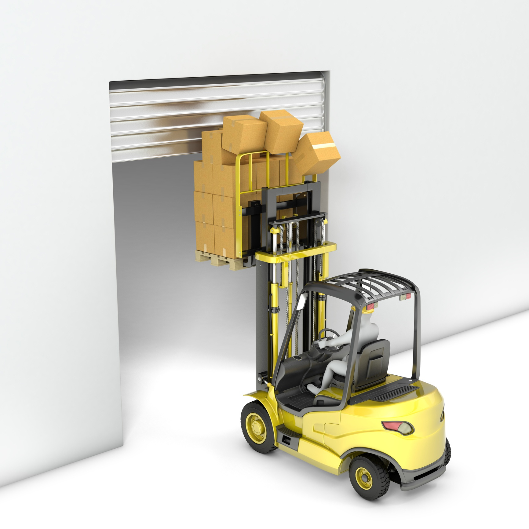 Forklift Fall Protection Equipment