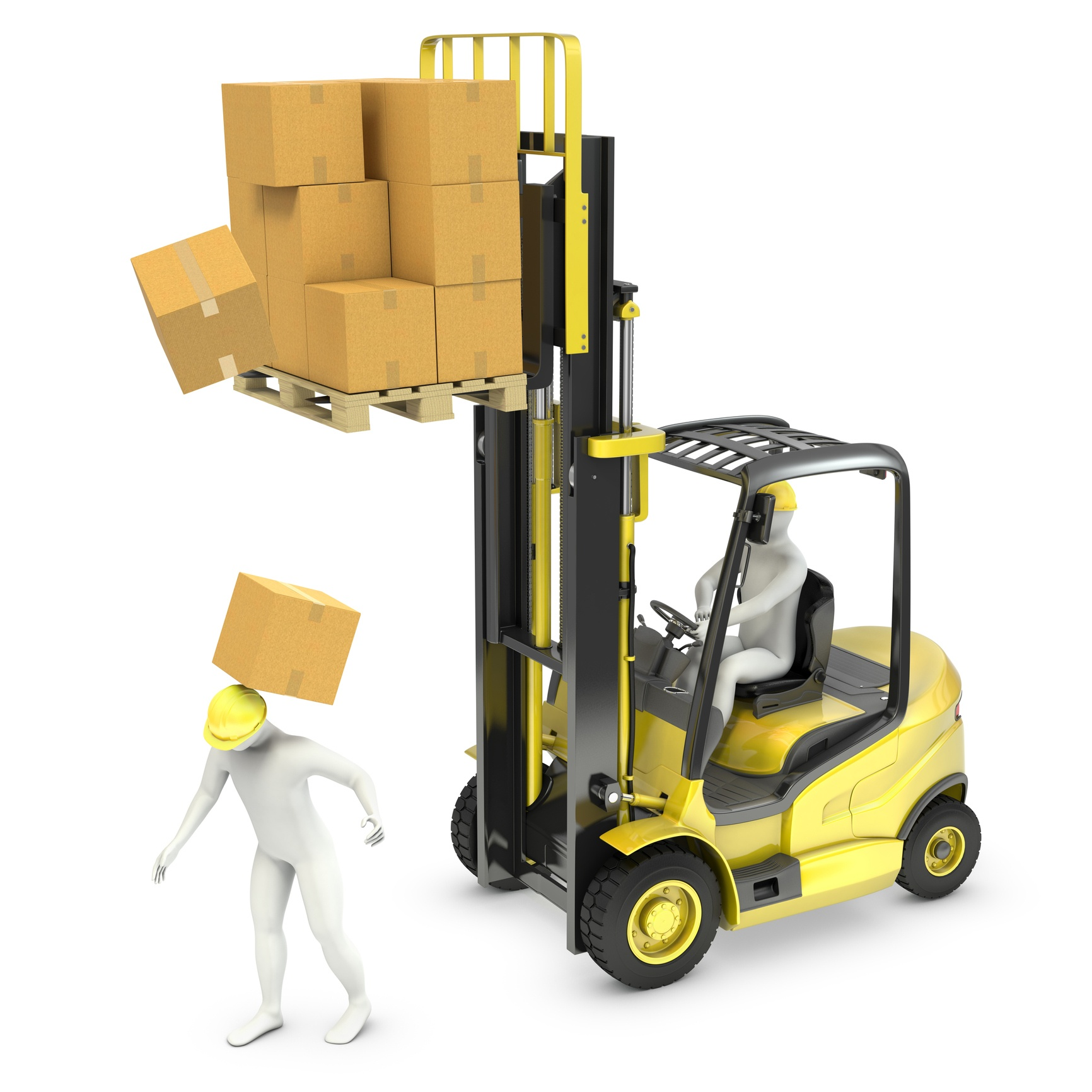 Forklift Fall Protection Products